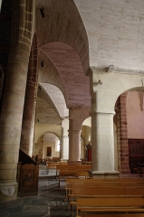 Eglise Saint-Jean-du-Baly - Français:   Église Saint-Jean-du-Baly de Lannion: bas-côté nord.
