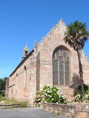 Chapelle Saint-Roch - Français:   Chapelle Saint-Roch à Lannion vue depuis le parking d\'accès (au Sud-Est).