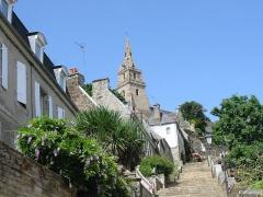 Eglise de la Trinité de Brélévenez - English: France: church in Lanion (Brittany)