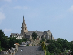 Eglise de la Trinité de Brélévenez - English: France: church in Lannion (Brittany)