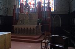 Ruines de l'ancien prieuré royal de Saint-Magloire - IntérieurLe Maître-autel et les orgues de l'abbaye Saint-Magloire