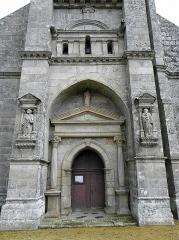 Eglise Saint-Emilion - Français:   Église Saint-Émilion de Loguivy-Plougras (22). Portail occidental.