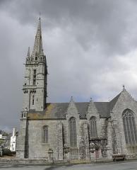 Eglise Saint-Emilion - Français:   Église Saint-Émilion de Loguivy-Plougras (22). Vue méridionale.