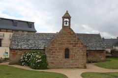 Calvaire, à Ploumanac'h, dans l'enclos de la chapelle Saint-Guirec - Français:   Chapelle Saint-Guirec à Perros-Guirec.
