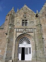 Chapelle de Notre-Dame de la Clarté - Français:   Chapelle Notre-Dame-de-la-Clarté en Perros-Guirec (22). Porche sud.