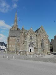 Chapelle de Notre-Dame de la Clarté - Français:   Chapelle Notre-Dame-de-la-Clarté en Perros-Guirec (22). Flanc sud.