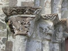 Eglise Saint-Jacques - Français:   Église Saint-Jacques de Perros-Guirec (22). Ébrasement gauche du portail sud.