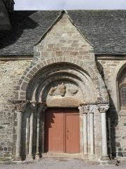 Eglise Saint-Jacques - Français:   Église Saint-Jacques de Perros-Guirec (22). Portail sud.