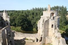 Château de la Hunaudaye - Français:   Château de la Hunaudaye (Classement)