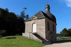 Château de Kerduel - Entrée de l'étage supérieur de la Chapelle domestique Sainte-Anne au sein du Château de Kerduel à Pleumeur-Bodou.