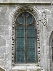Chapelle de Kerfons-en-Kerfaouës - Chapelle Notre-Dame-de-Kerfons-en-Kerfaouës, commune Ploubezre (22). Fenêtre de la costale sud de la nef.