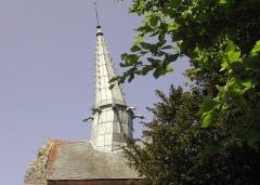 Chapelle Saint-Gonéry et cimetière - Français:   Clocher de la  Chapelle Saint-Gonéry(XVème & XVIème)  Plougrescant.