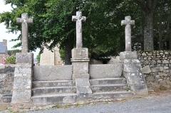 Chapelle Saint-Gonéry et cimetière - Français:   Chapelle Saint-Gonéry (Côtes-d\'Armor, 22)