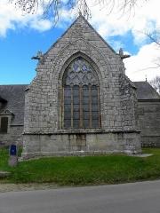 Chapelle de Kermaria-an'Isquit - Français:   Chapelle de Kermaria-an-Isquit, commune de Plouha (22). Croisillon sud.