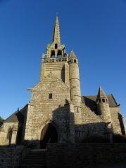 Eglise Saint-Milliau - Français:   Église Saint-Milliau de Ploumilliau (22). Façade occidentale.