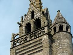 Eglise Saint-Milliau - Français:   Commune de Ploumiliau