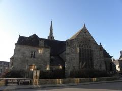 Eglise Saint-Milliau - Français:   Église Saint-Milliau de Ploumilliau (22). Chevet.
