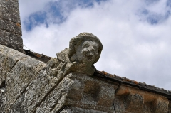 Chapelle de Locmaria - Brezhoneg: Unan eus Gargouloù chapel Lokmaria Rostrenn.