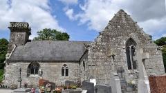 Chapelle de Locmaria - Brezhoneg: Chapel Lokmaria Rostrenn gwelet eus ar Su.