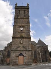 Eglise Notre-Dame du Roncier - Brezhoneg: Iliz Itron Varia an Dreineg e Rostrenn.