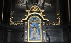 Eglise Notre-Dame du Roncier - Brezhoneg: Itron Varia an Dreineg.
