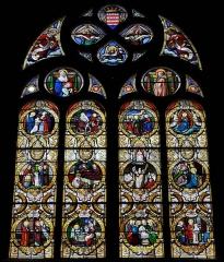 Eglise Notre-Dame du Roncier - Brezhoneg: Gwerenn livet kreisteiz iliz Itron Varia an Dreineg e Rostrenn.