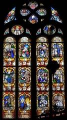 Eglise Notre-Dame du Roncier - Brezhoneg: Gwerenn livet hanternoz iliz Itron Varia an Dreineg e Rostrenn.