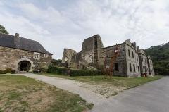 Abbaye de Bon Repos - Français:  Abbaye Notre-Dame-de-Bon-Repos (Saint-Gelven, France).