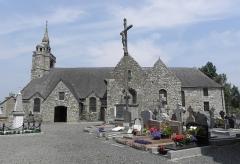Eglise Saint-Gilles - Français:   Église Saint-Gilles de Saint-Gilles-les-Bois (22). Vue méridionale.