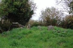 Dolmen sous cairn dit de Roscouac'h - Brezhoneg: Karn Roskoualc'h e Tredraezh-Lokemo.