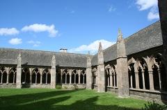 Ancienne cathédrale Saint-Tugdual et cloître - Français:   Cathédrale Saint-Tugdual de Tréguier - Tréguier - Côtes d\'Armor - France. Ailes nord et est du cloître.