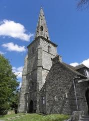 Ancienne église Saint-Michel - Français:   Tour-clocher de l\'ancienne église Saint-Michel à Tréguier (22). Vue du sud-ouest.
