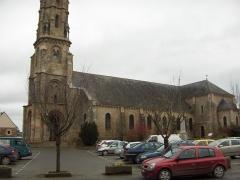 Eglise Saint-Malo - English: The church of Yvignac-la-Tour.