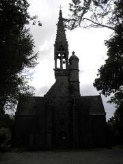 Eglise ou chapelle de la Véronique - Français:   Chapelle de La Véronique à Bannalec (29). Façade occidentale.