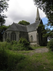 Eglise ou chapelle de la Véronique - Français:   Chapelle de La Véronique à Bannalec (29). Chevet.
