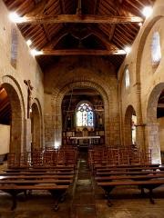 Chapelle de Perguet - Français:   Chapelle Sainte-Brigitte de Perguet en Bénodet (29). Intérieur.