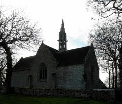 Chapelle de Perguet - Français:   Chapelle Sainte-Brigitte de Perguet en Bénodet (29). Chevet.