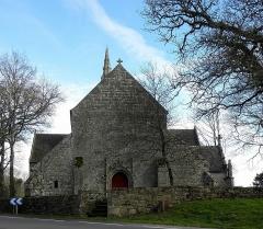 Chapelle de Perguet - Français:   Chapelle Sainte-Brigitte de Perguet en Bénodet (29). Façade occidentale.