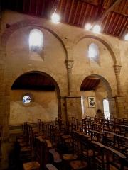 Chapelle de Perguet - Français:   Chapelle Sainte-Brigitte de Perguet en Bénodet (29). Costale sud de la nef et collatéral adjacent.