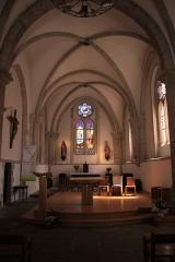 Eglise, dite église du Port ou église Saint-Thomas - Français:   Nef de l\'église Saint-Thomas Becket, Fr-29-Bénodet.