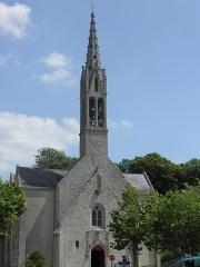 Eglise, dite église du Port ou église Saint-Thomas - Français:   Église à Bénodet (Finistère, France).