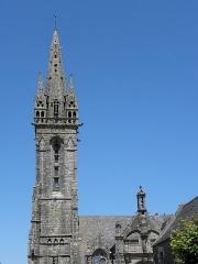 Eglise Notre-Dame - Clocher-porche de l'église Notre-Dame de Bodilis (29).