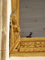 Eglise Notre-Dame - Blochet de l'église Notre-Dame de Bodilis (29). Saint-Thomas.