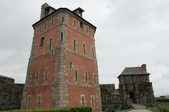 Tour Vauban -  Vauban's tower in Camaret-sur-Mer, Crozon Peninsula, Brittany, France.