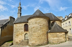 Chapelle Saint-Michel - This building is indexed in the Base Mérimée, a database of architectural heritage maintained by the French Ministry of Culture,under the reference PA00089912 .