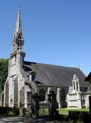 Chapelle Notre-Dame de Kerdevot - Deutsch: Ergué-Gabéric (Bretagne, Finistère) Kapelle von Kerdevot und Calvaire..