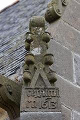 Eglise Saint-Sauveur -  Vue de l'église Saint-Sauveur du Faou.
