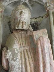 Eglise Notre-Dame de Rumengol - Collège apostolique du porche sud de l'église Notre-Dame-de-Rumengol au Faou (29).