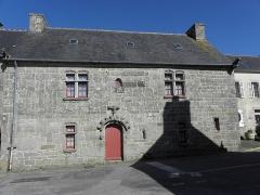 Maison du 16e siècle - Français:   Maison inscrite sise au bourg de Goulven (29).