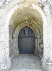 Chapelle Notre-Dame de Kernitron - Porche occidental de la chapelle ND de Kernitron en Lanmeur (29).